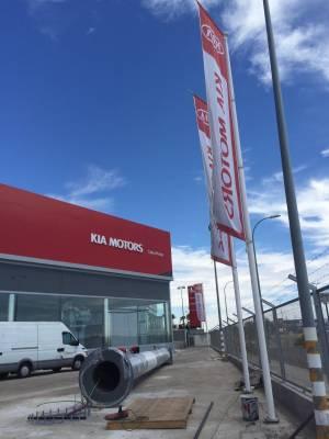 Pantalla Led Concesionario Toyota