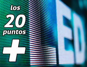 los 20 puntos más importantes para la adquisición de una pantalla de led