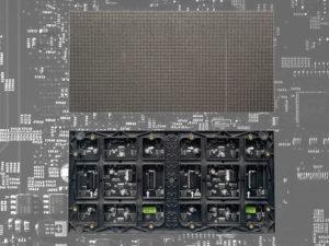 imagen de módulo de led de interior visto por la parte delantera y por la parte trasera