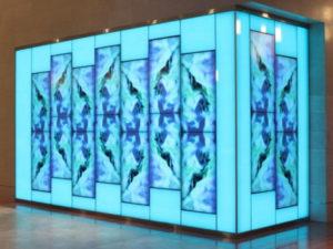 pantalla led interior reconocimiento de movimiento 3d